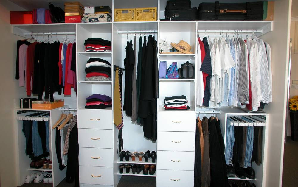 range of wardrobe internal options